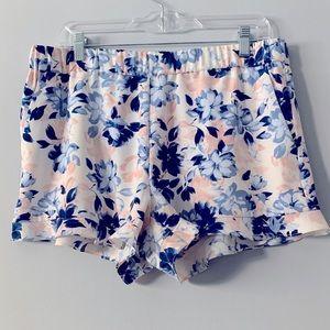 Maison Jules Floral Shorts L